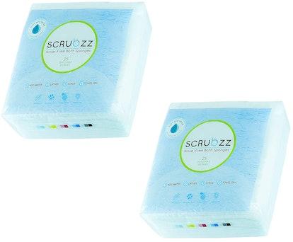 Scrubzz Disposable Bathing Wipes