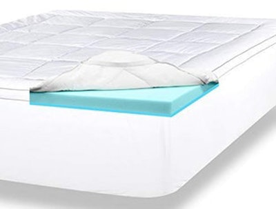 ViscoSoft 4 Inch Pillow Top Gel Memory Foam Mattress Topper