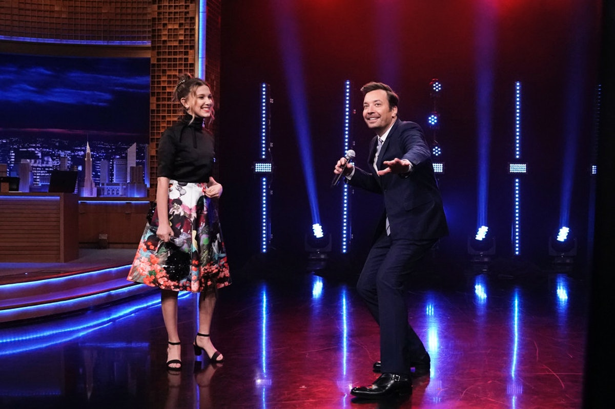 "Millie Bobby Brown Covered Lizzo & Lorde In A ""Beat Battle"" With Jimmy Fallon — VIDEO"