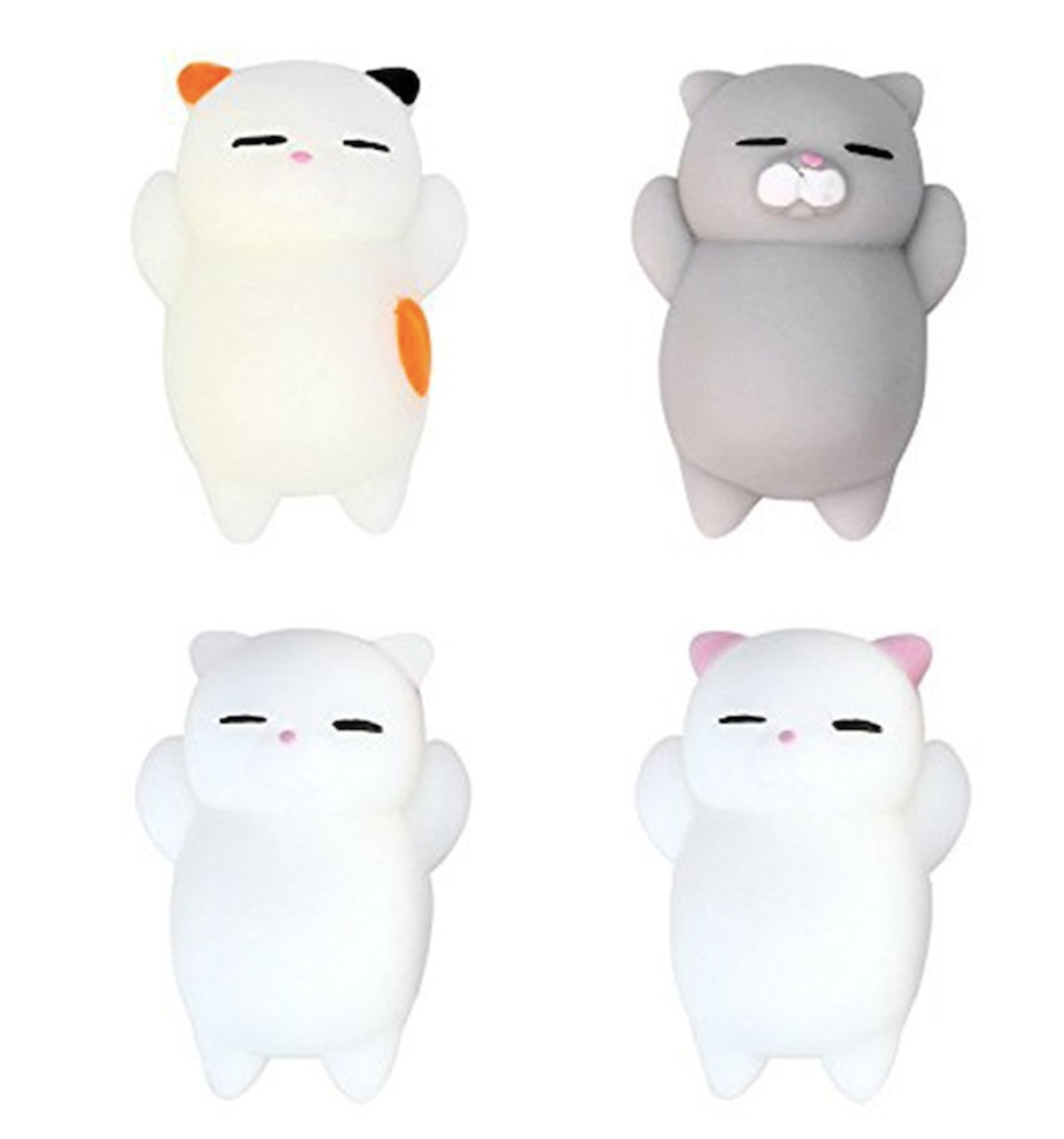 Eutrec Stress Squishy Toys (Set of 4)