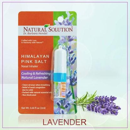 Natural Solution Himalayan Pink Salt Nasal Inhaler