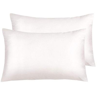 NTBAY Silky Satin Standard Pillowcases (Set of 2)