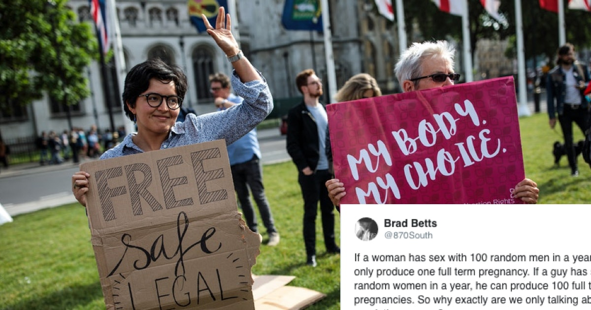 This Viral Tweet About Regulating Women's Bodies Is A Must-Read