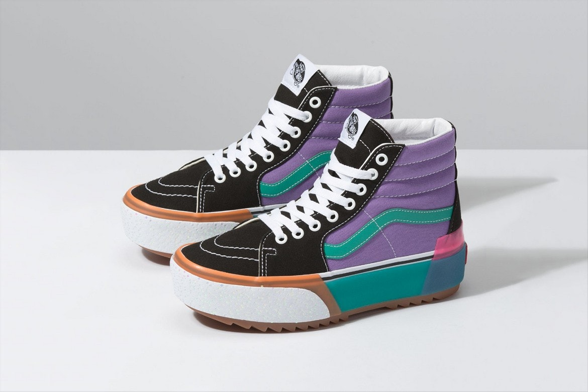 These Vans Stacked Sneakers Come In Low