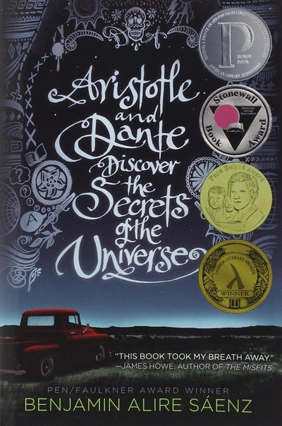 'Aristotle & Dante Discover The Secrets of the Universe' by Benjamin Alire Sáenz