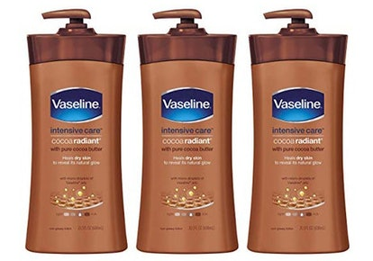 Vaseline Intensive Care Cocoa Radiant Body Lotion (3 Pack)