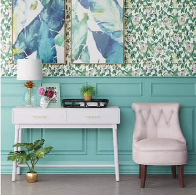 Canary Floral Peel & Stick Removable Wallpaper - Opalhouse™
