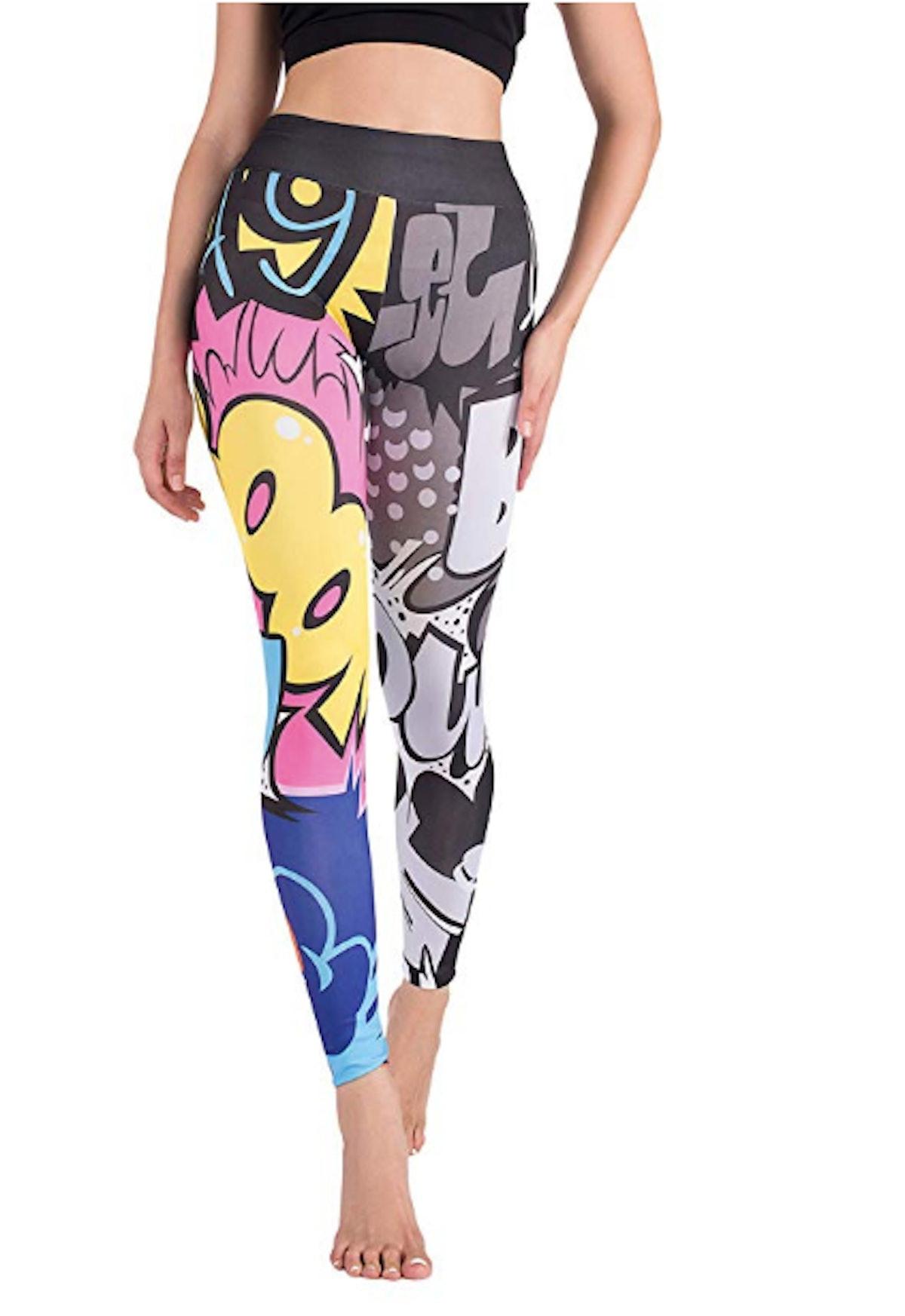 DrKr Pop Art Graffiti Leggings