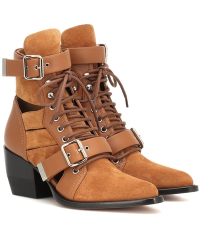 Rylee Suede Ankle Boots
