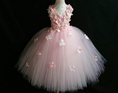 Hydrangea Flower Tutu Dress