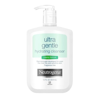 Unscented Neutrogena Ultra Gentle Hydrating Creamy Facial Cleanser