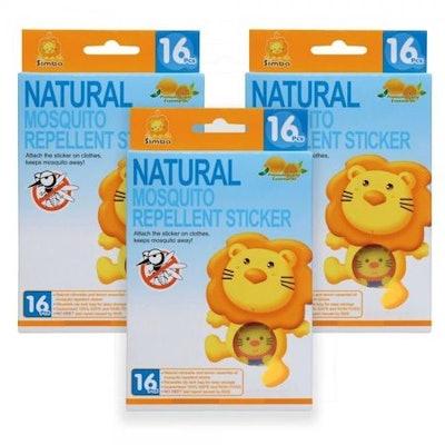 Simba Natural Mosquito Repellent Sticker