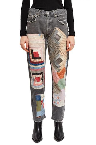 Quilt Jeans