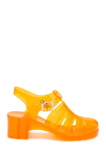 Caged Jelly Sandals