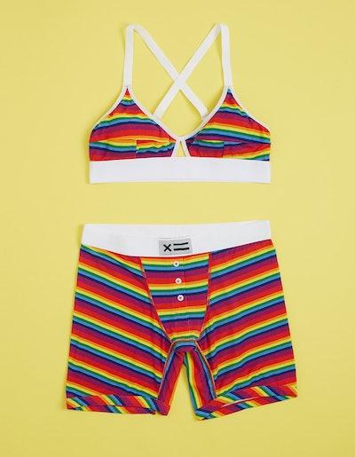 "Micro Modal Rainbow Pride Stripe 6"" Fly"