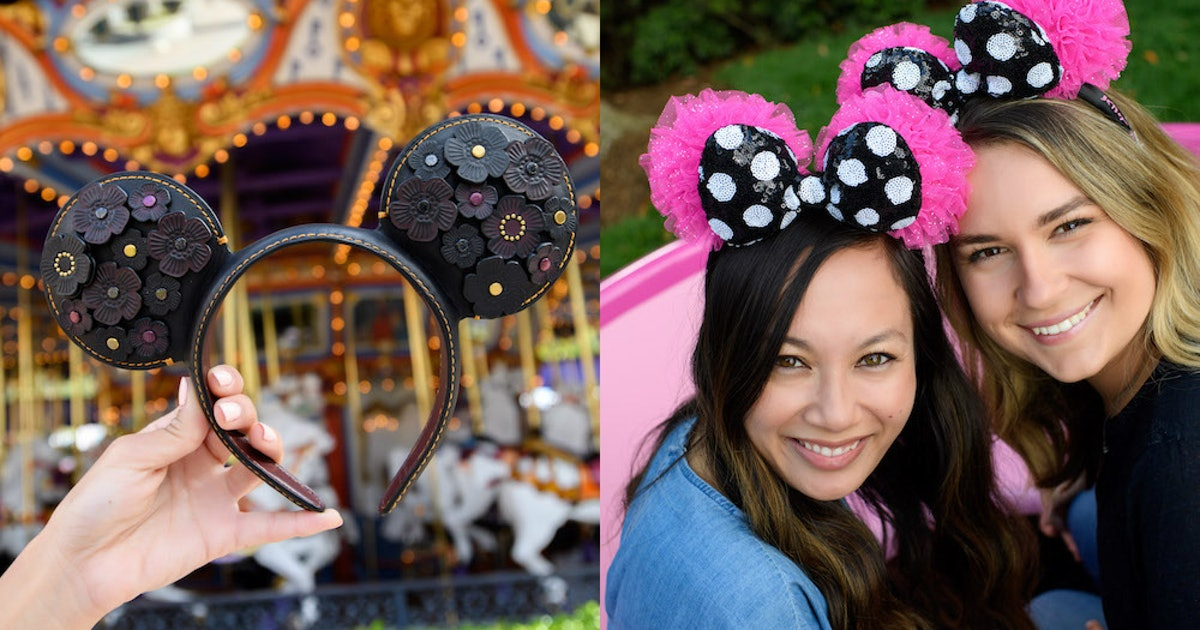 These Designer Minnie & Mickey Mouse Ears Coming To Disney For Summer & Fall 2019 Are Too Cute