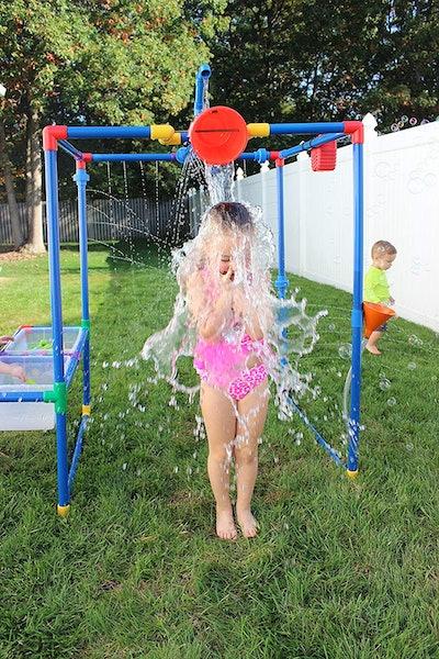 Buckets of Fun Backyard Water Park