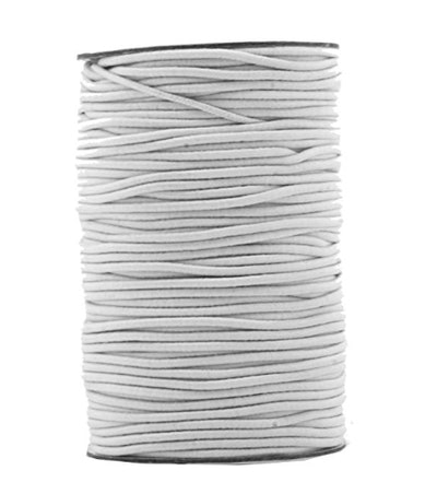 2mm 76 Yards Fabric Elastic Cord