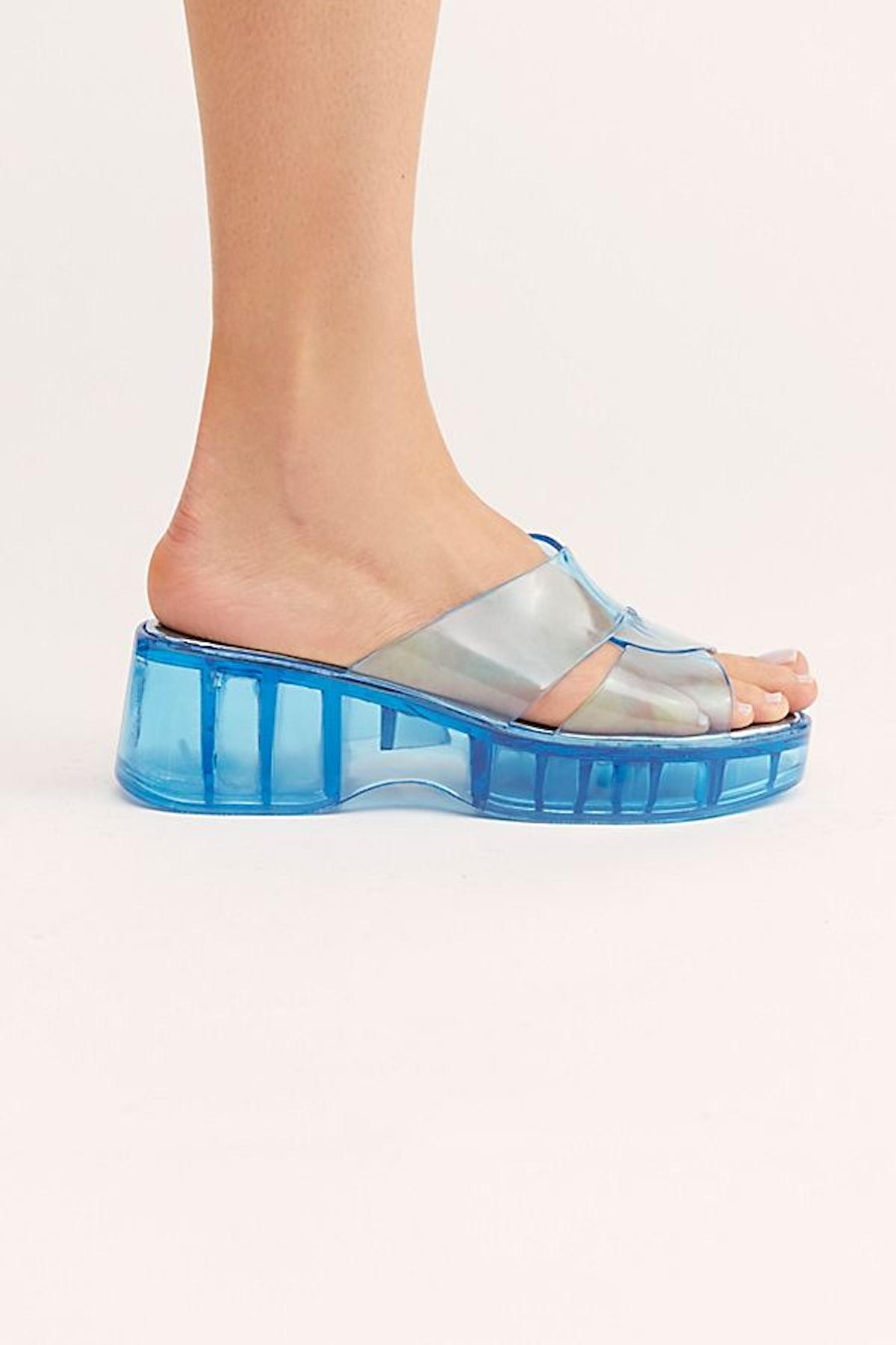 Wild Card Flatform Sandal