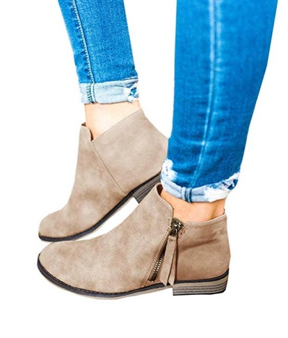 Ofenbuy Women's Ankle Boots