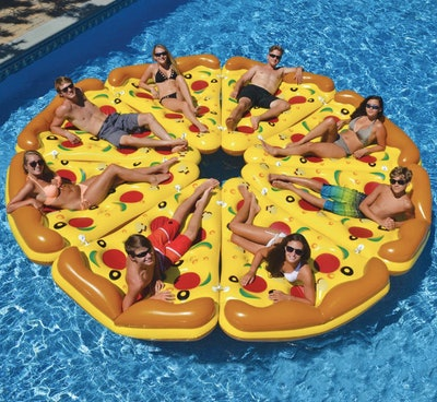 Swimline Complete Pizza Pool Float Set