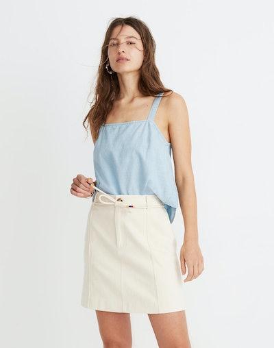 Capital A-Line Mini Skirt