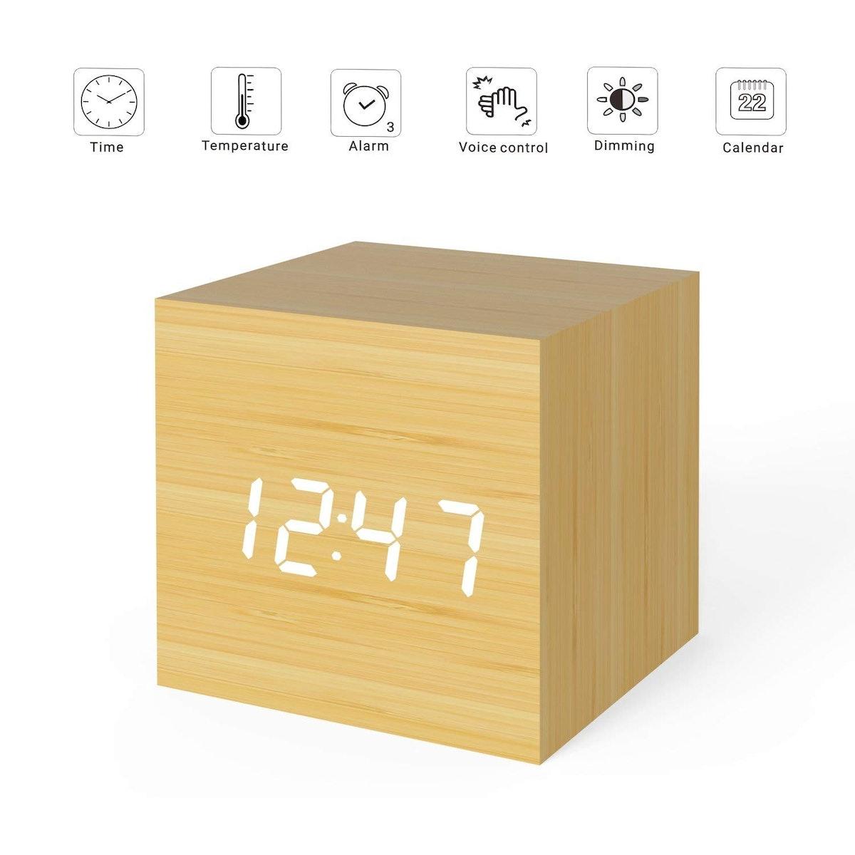 MiCar Digital Alarm Clock