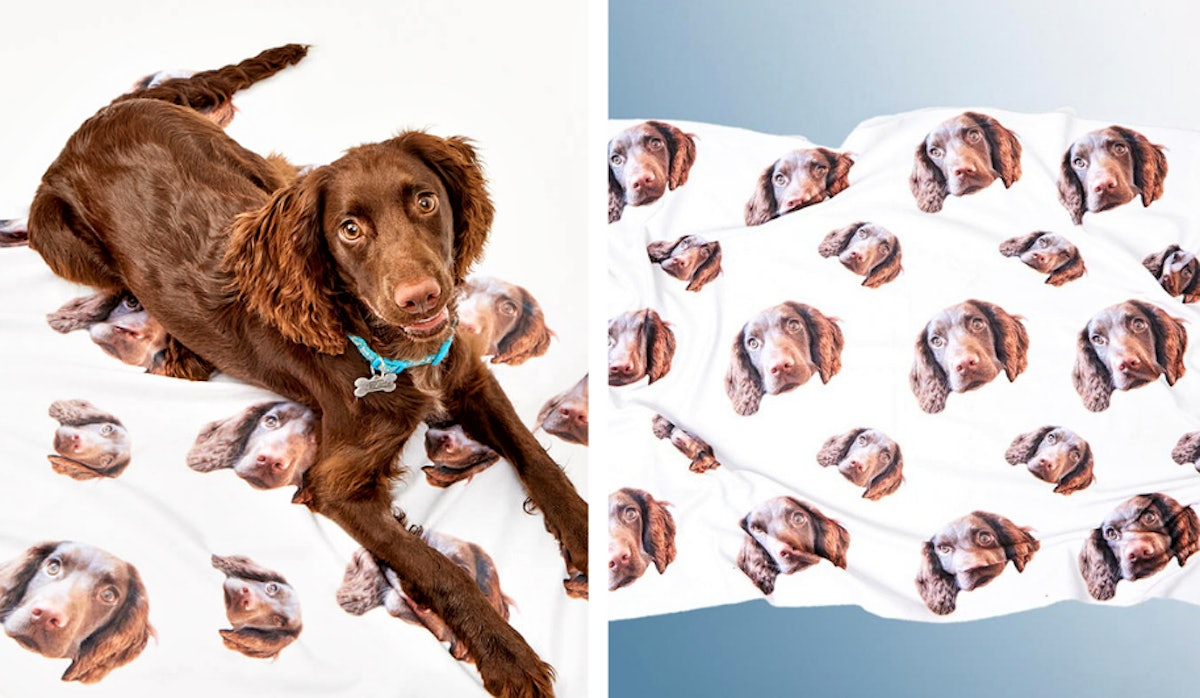 These Personalised Dog Blankets Let You Have *Any* Photo You Want On Them