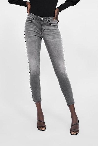Z1975 Skinny Jeans With Side Stripe