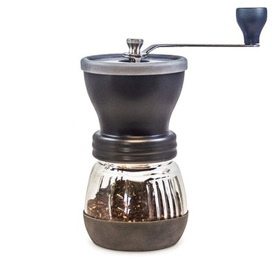 Khaw-Fee Manual Coffee Grinder with Conical Ceramic Burr