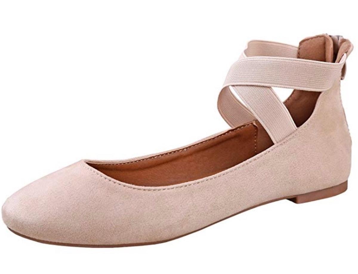 ANNA ANNA Dana-20 Women's Classic Ballerina Flats