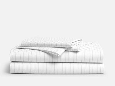 Brooklinen Luxe Sateen 4-Piece Bed Core Sheet Set