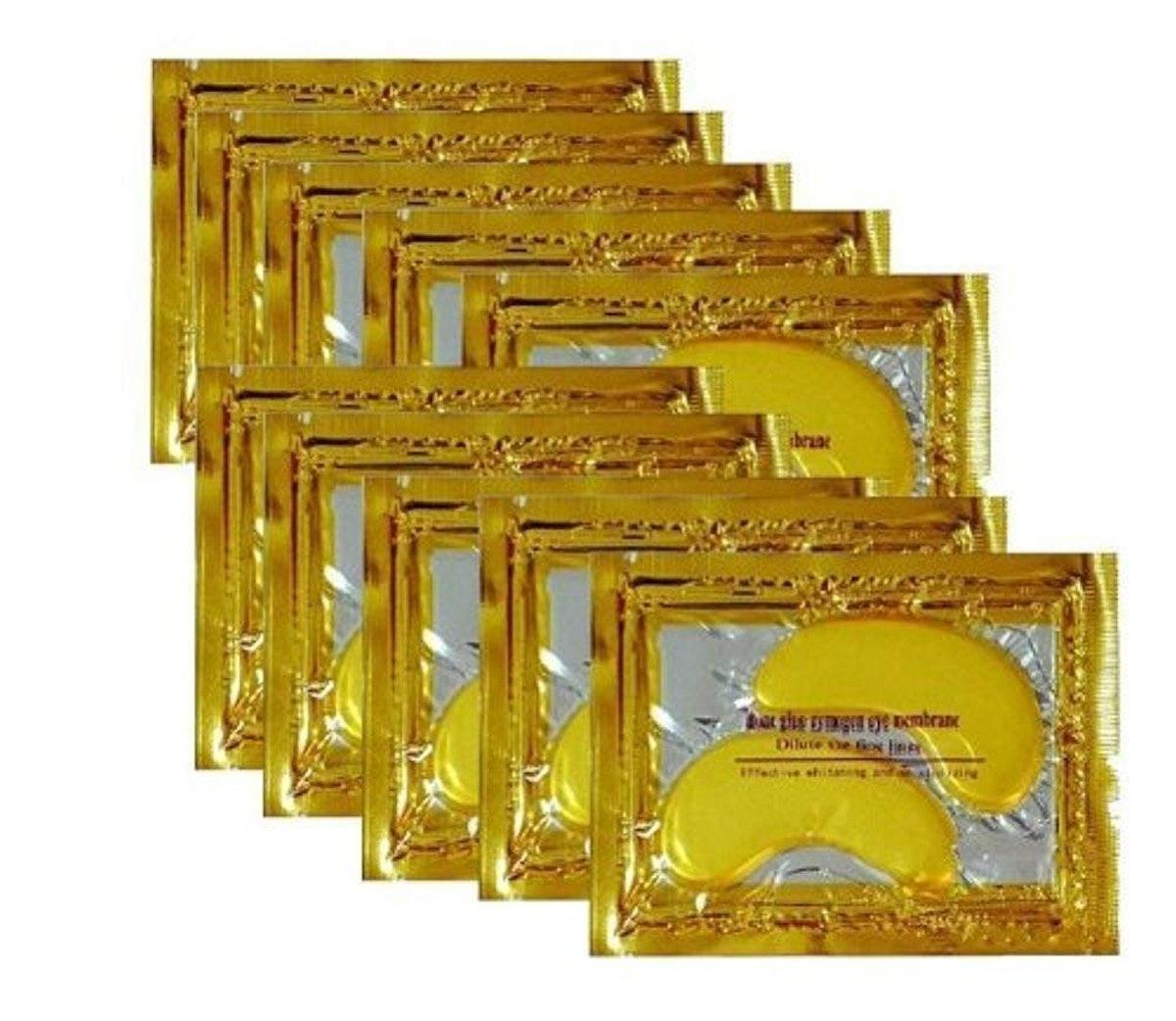 Vandarllin 24K Gold Eye Masks (30 Pack)