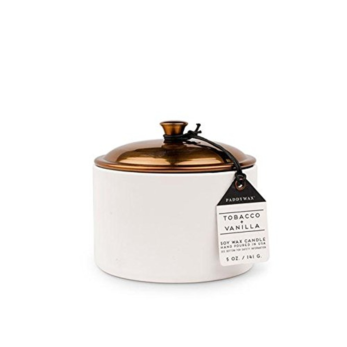 Paddywax Tobacco & Vanilla Soy Candle