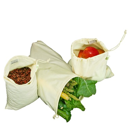 Simple Ecology Reusable Produce Bags (Set of 6)