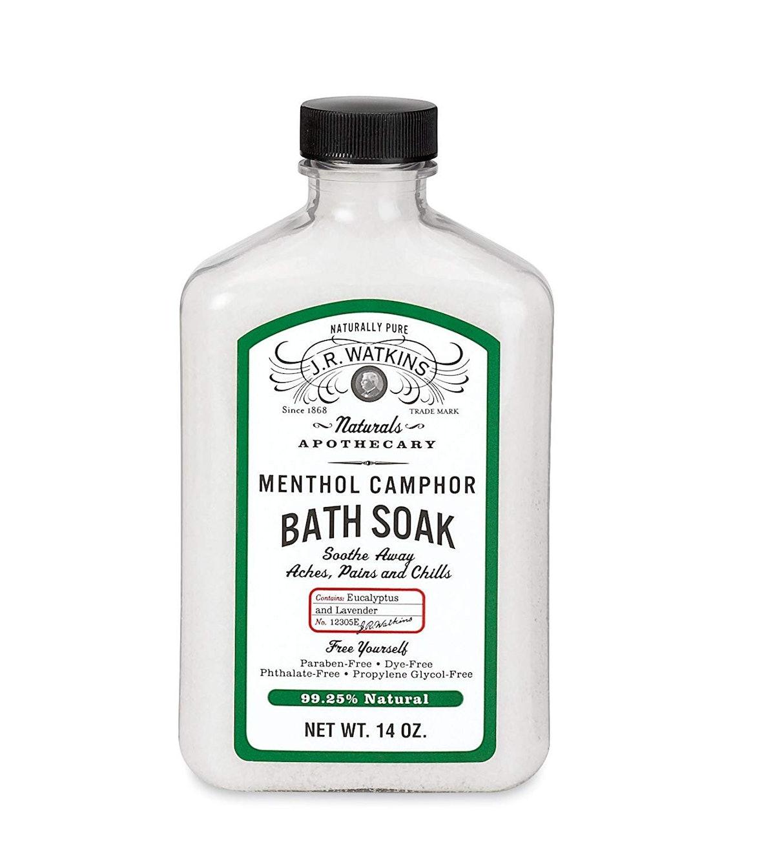 J.R. Watkins Menthol Camphor Bath Soak