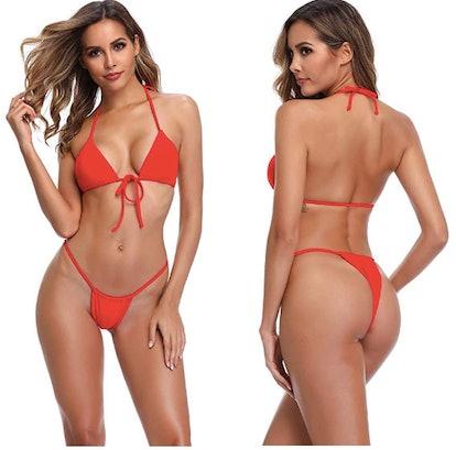 XUNYU Bandage Brazilian Swimwear