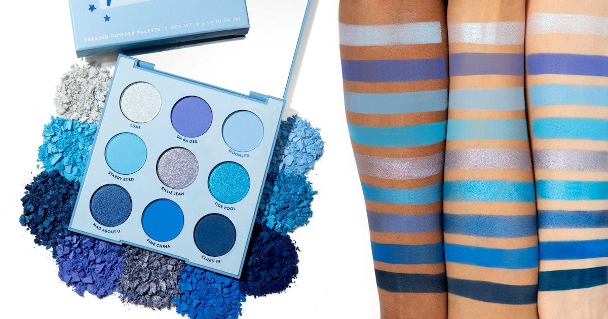 Colourpop S Blue Moon Palette Is A Dupe For Jeffree Star S