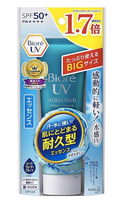 Bioré Aqua Rich Watery Essence Sunscreen
