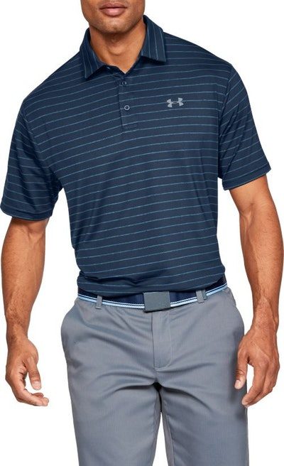 Men's Playoff 2.0 Tour Stripe Golf Polo