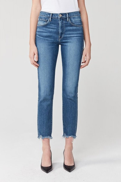 W3 Straight Authentic Crop High Rise Jean - Ace