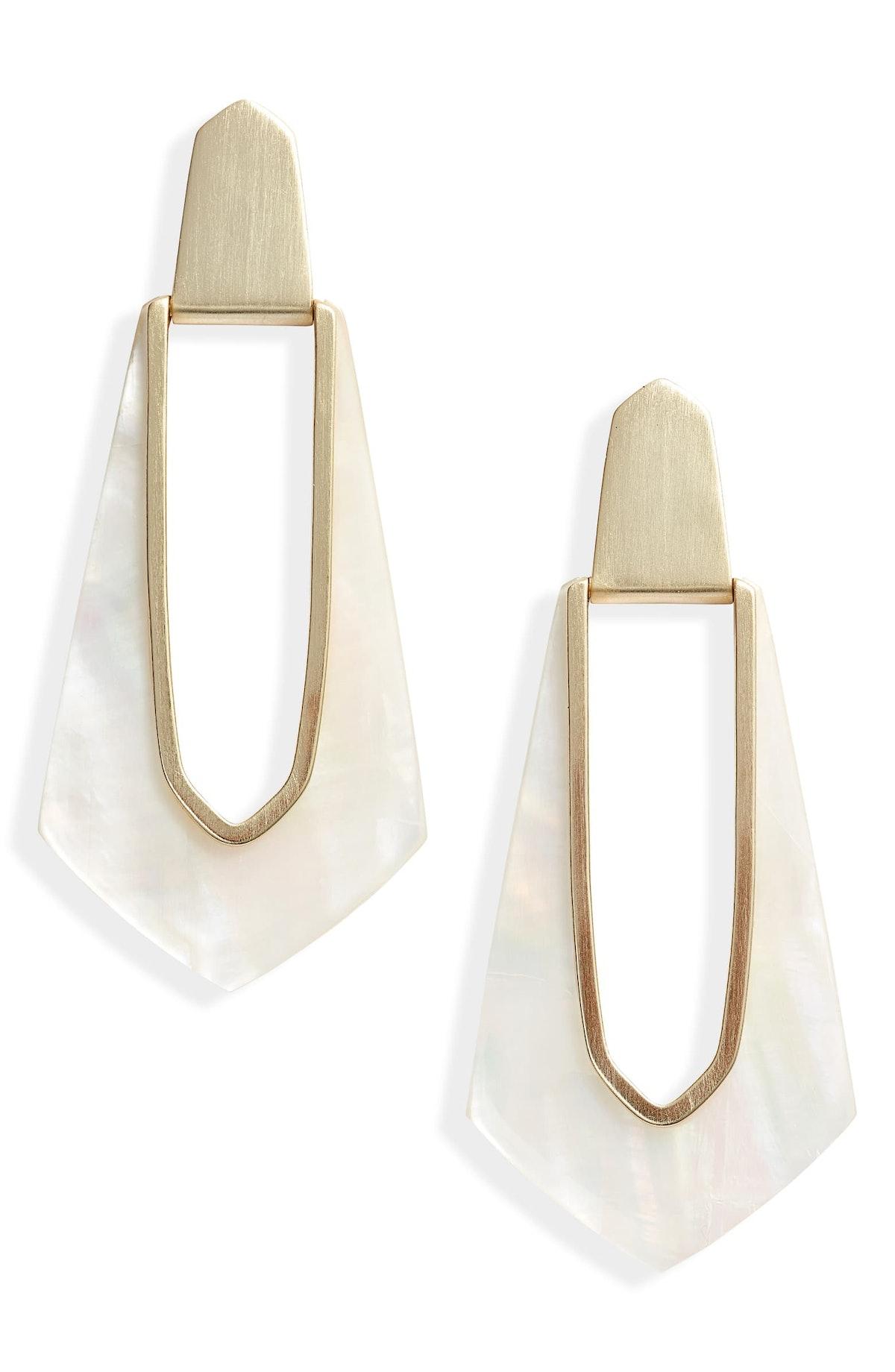 Kiernan Elongated Drop Earrings