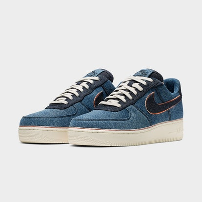 3x1 Nike Air Force 1 Sneaker Collaboration - Stonewash Blue Selvedge