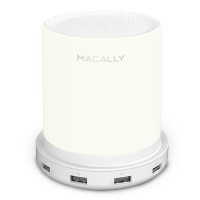 Macally Bedside Lamp With Charging Ports