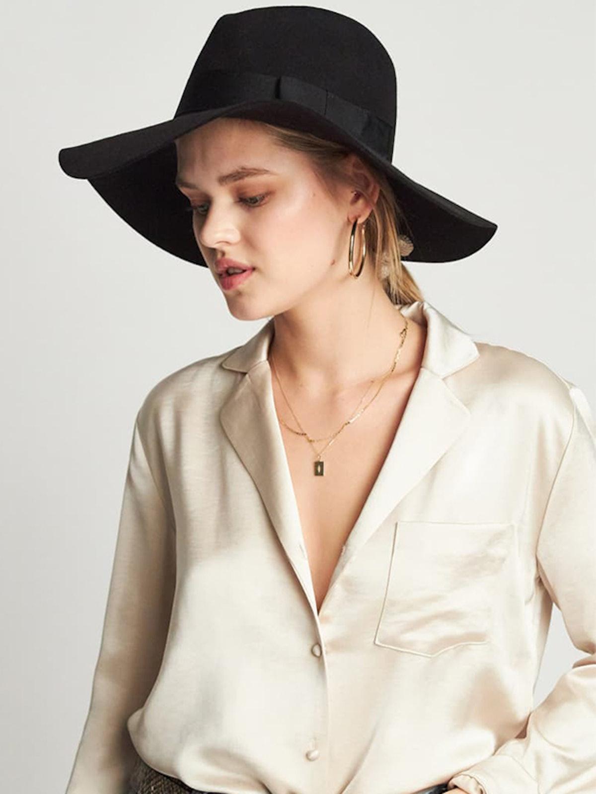 'Piper' Floppy Wool Hat