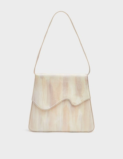 Gilda Leather Purse in Beam