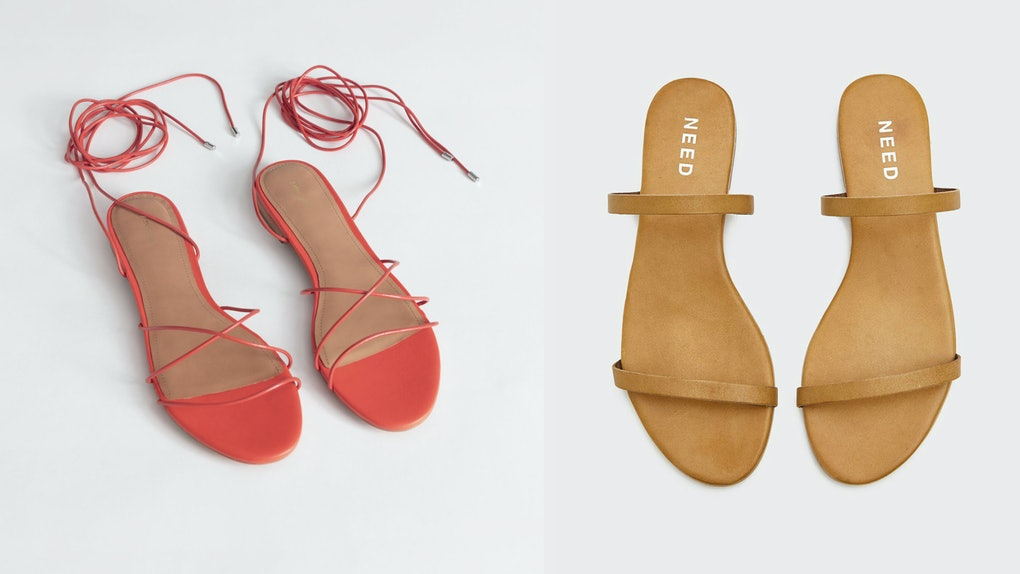 b1cca9efe2 10 Cute Minimalist Sandals Under  100 That You ll Be Able To Wear With  Everything