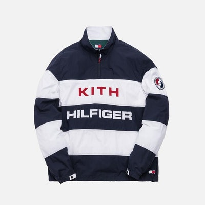 KITH x Tommy Hilfiger Stripe Woven Popover