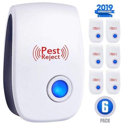 Ultrasonic Pest Repeller (6 Pack)