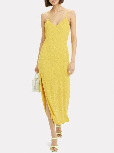 Rebecca Sequin Slip Gown